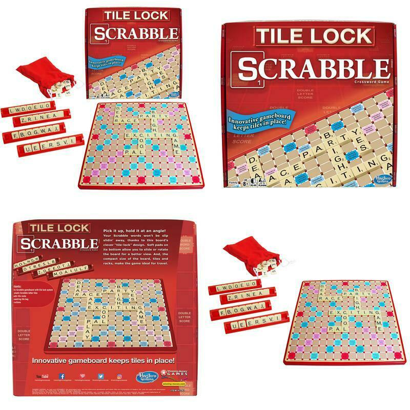 Winning Moves Tile Lock Scrabble Ebay
