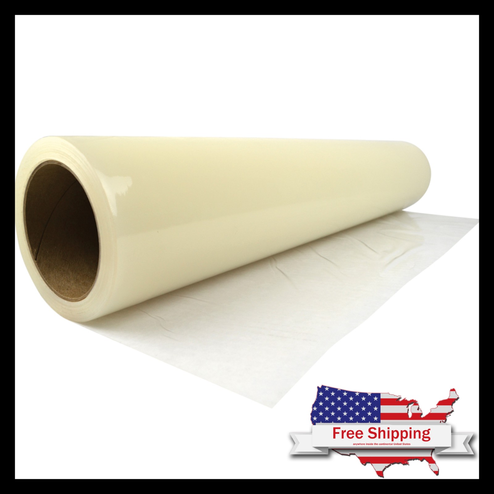 24 inch by 200 feet Great for Protect iPackBoxes Carpet Protection Clear
