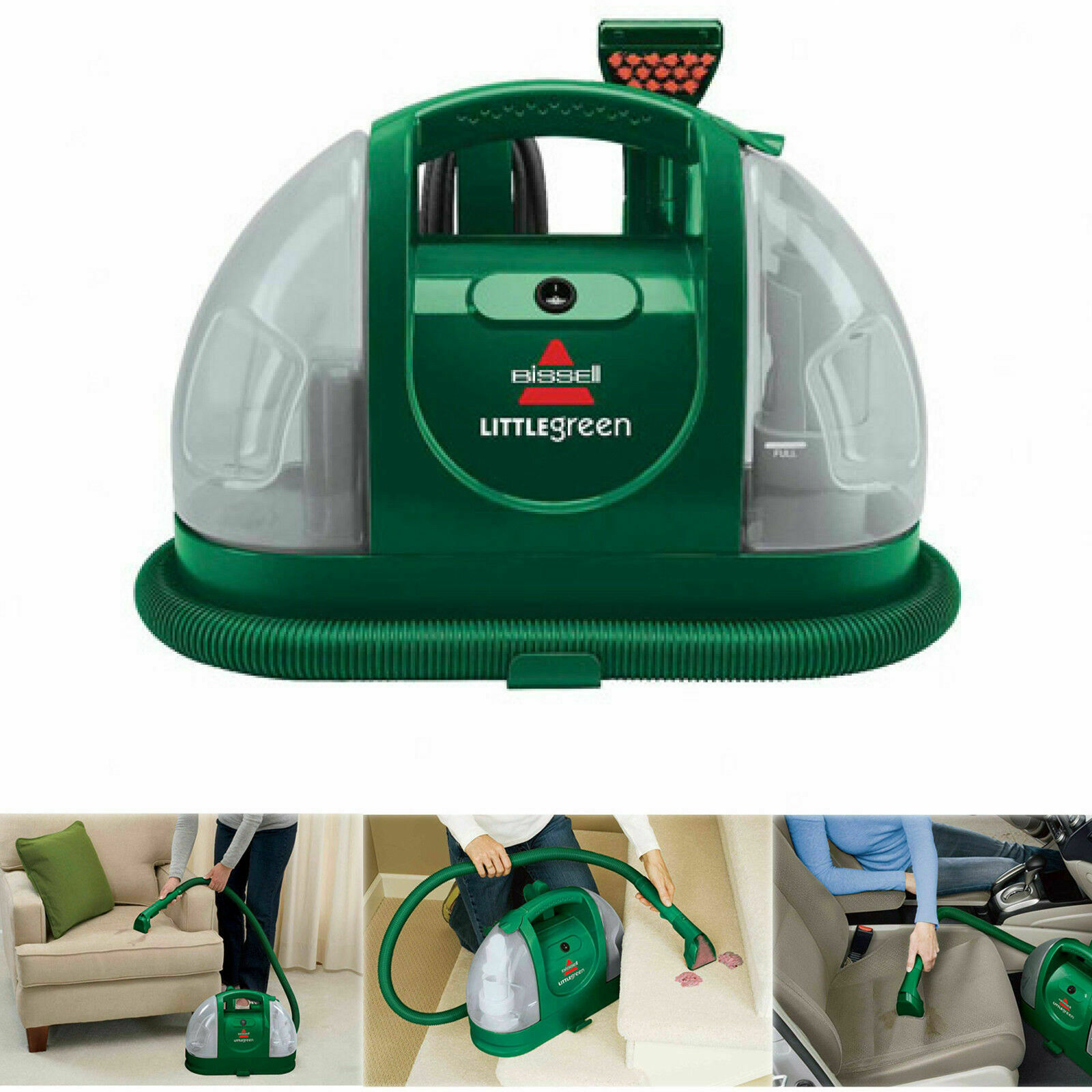 Details About Bissell Pet Stain And Odor Carpet Cleaner Handheld Portable Vacuum Car Remover