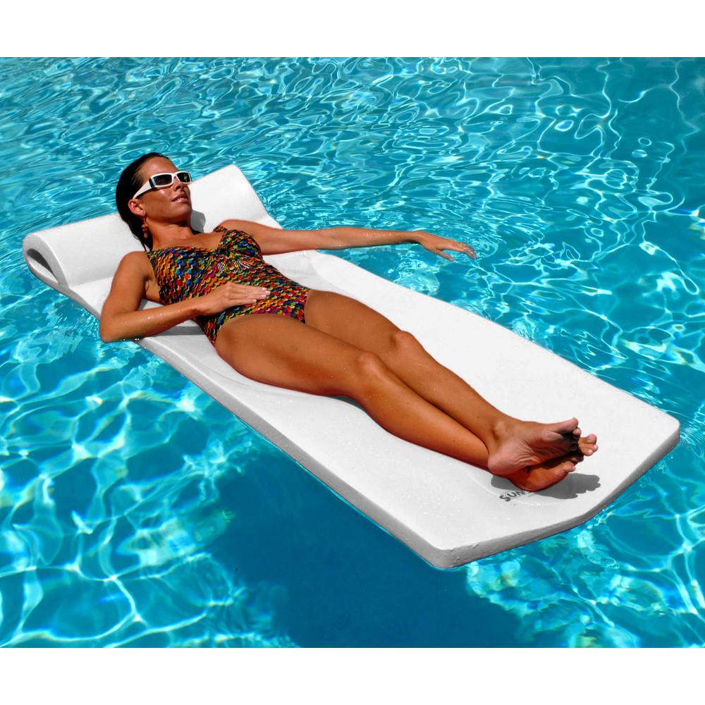 Details about Swimming Pool Floats For Adults Foam Float Floating Mattress  Mat Non Inflatable