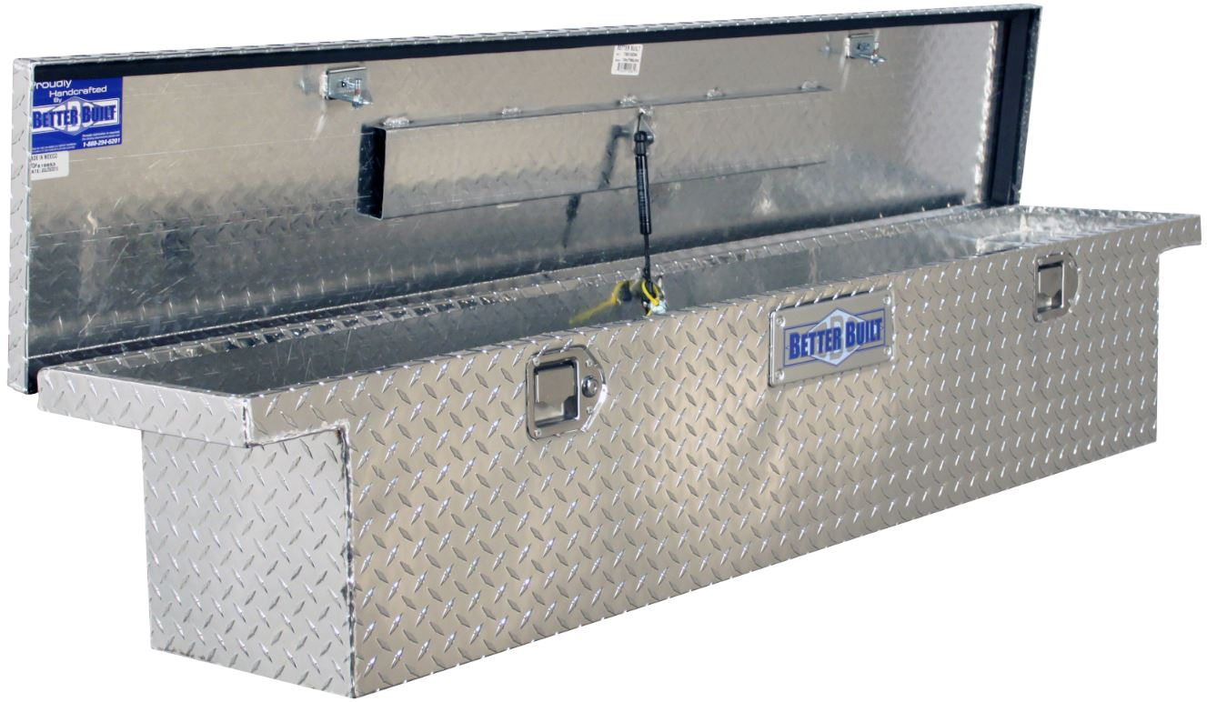 70 Truck Tool Box Pickup Cab Storage Aluminum Low Profile
