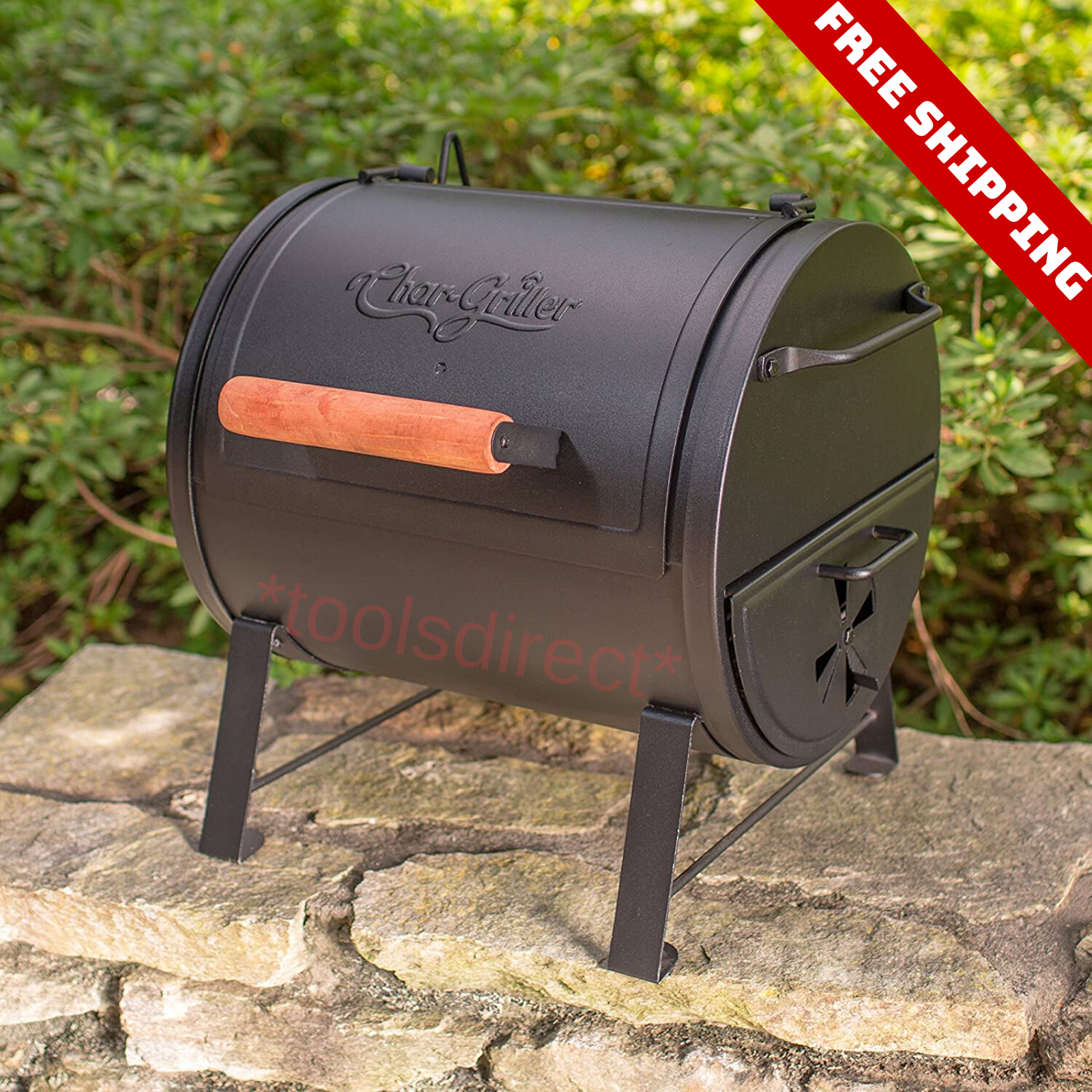 Outdoor Compact Charcoal Grill Portable Camping BBQ Cooking