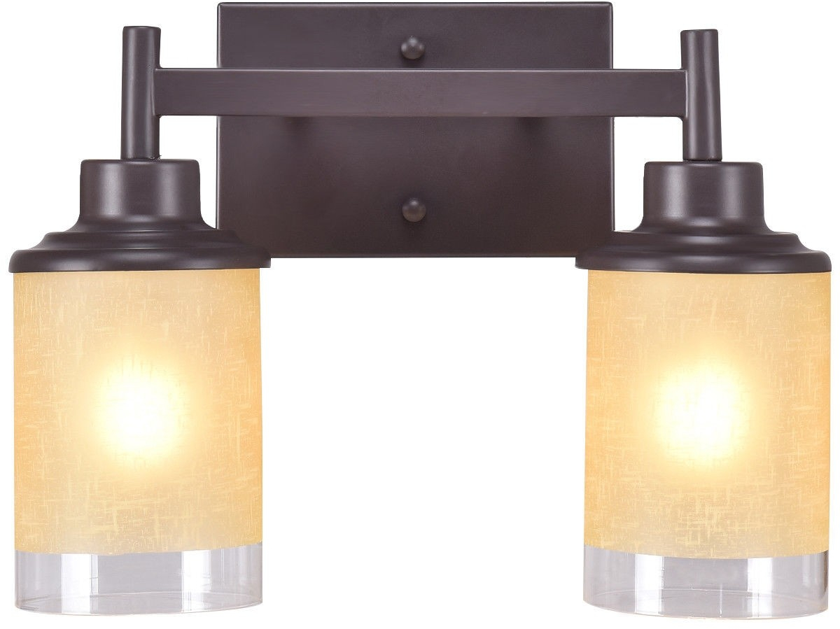 Wall Mounted Bath Light 2 Bathroom Vanity Lighting Fixture ...