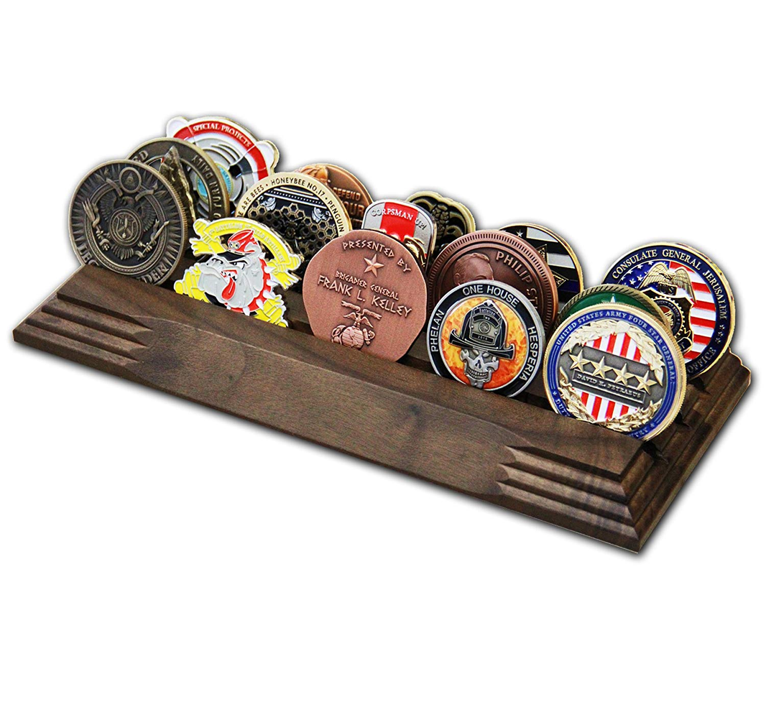 Toys & Games Hobbies 4 Row Challenge Coin Holder Military Coin ...
