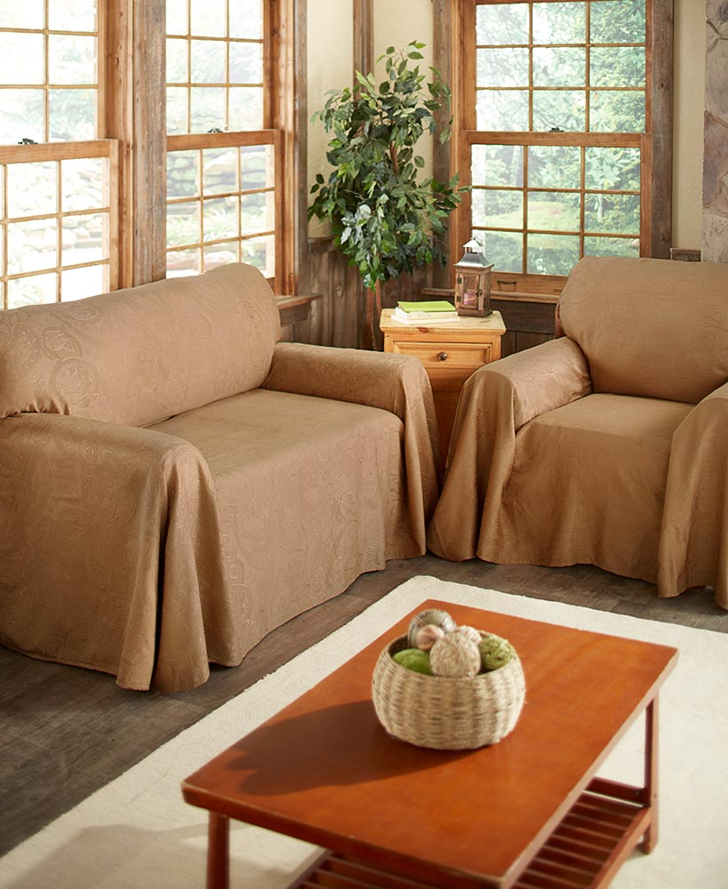 Details About Alexandria Furniture Throws Sofa Loveseat Chair Protection Pattern Fl Design