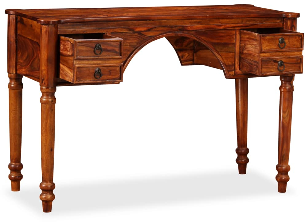 Details About Antique Writing Table Stable Wood Pc Secretary Desk Colonial Office Uk Furniture