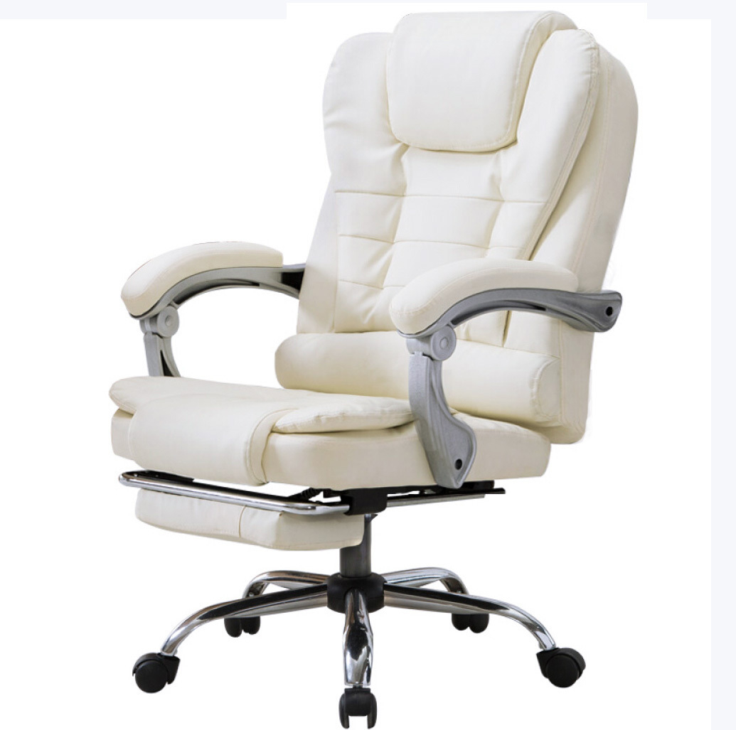 Apex Executive Reclining Office Chair With Foot Rest ...