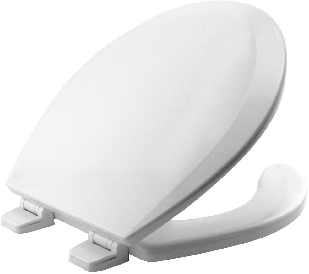 Phenomenal Details About Bemis Round Open Front Toilet Seat Lid Cover White Hardware Bathroom Bath Hinges Pdpeps Interior Chair Design Pdpepsorg