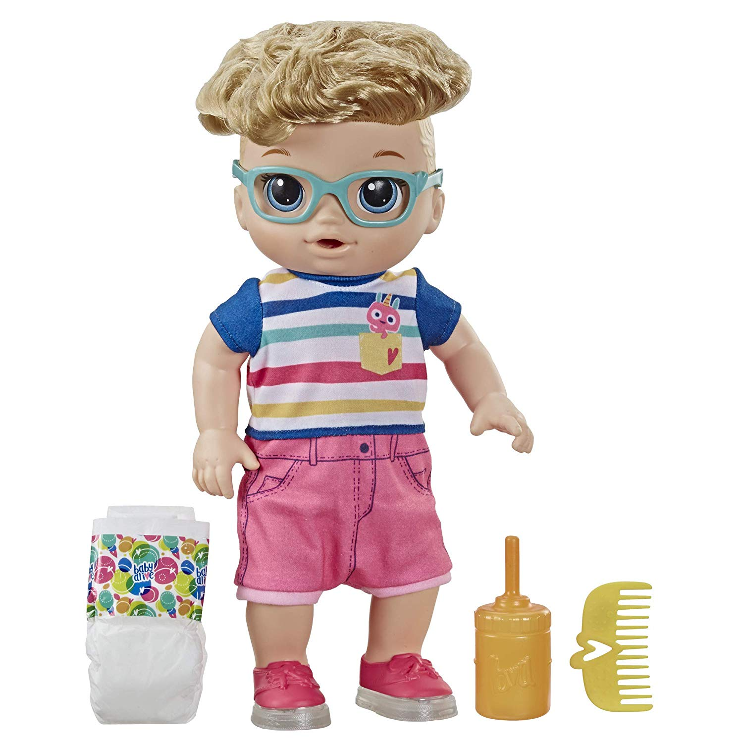 Baby Alive Step N Giggle Baby Blonde Hair Boy Doll With 25 Sounds And Phrases 630509819485 Ebay