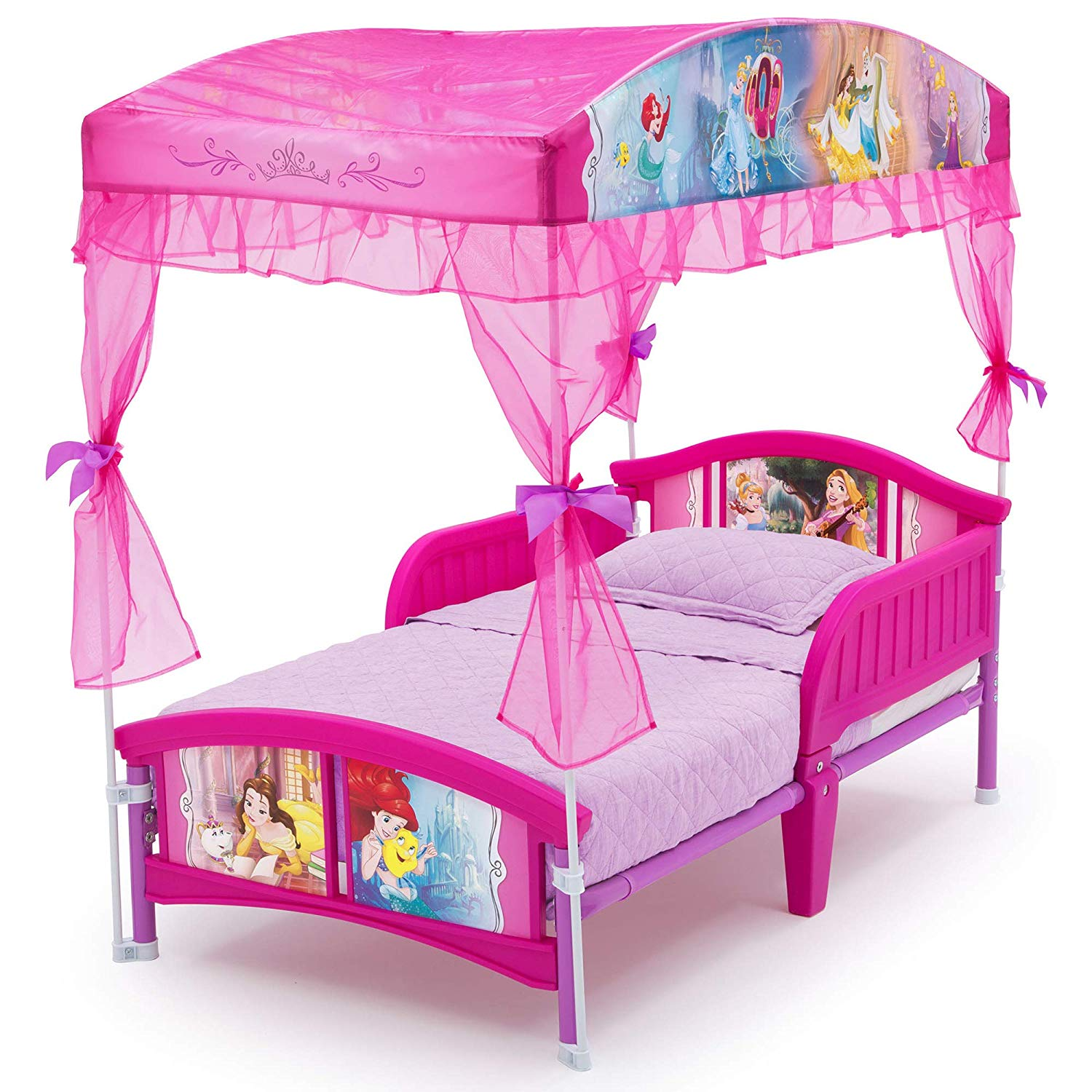 - Baby Toddler Kids Bed Children Disney Princess Bedroom Furniture W