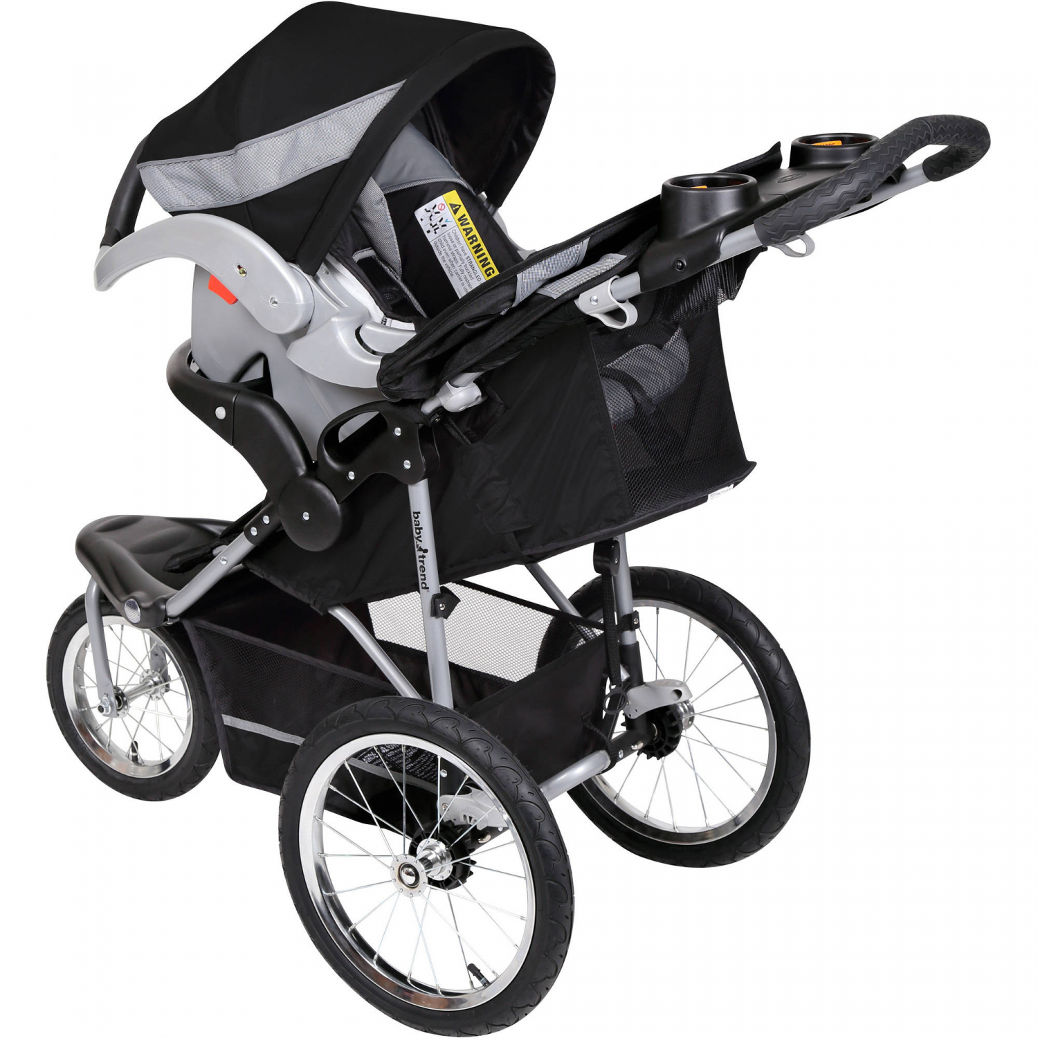 Baby Travel System Jogger Stroller Large Front Tire ...