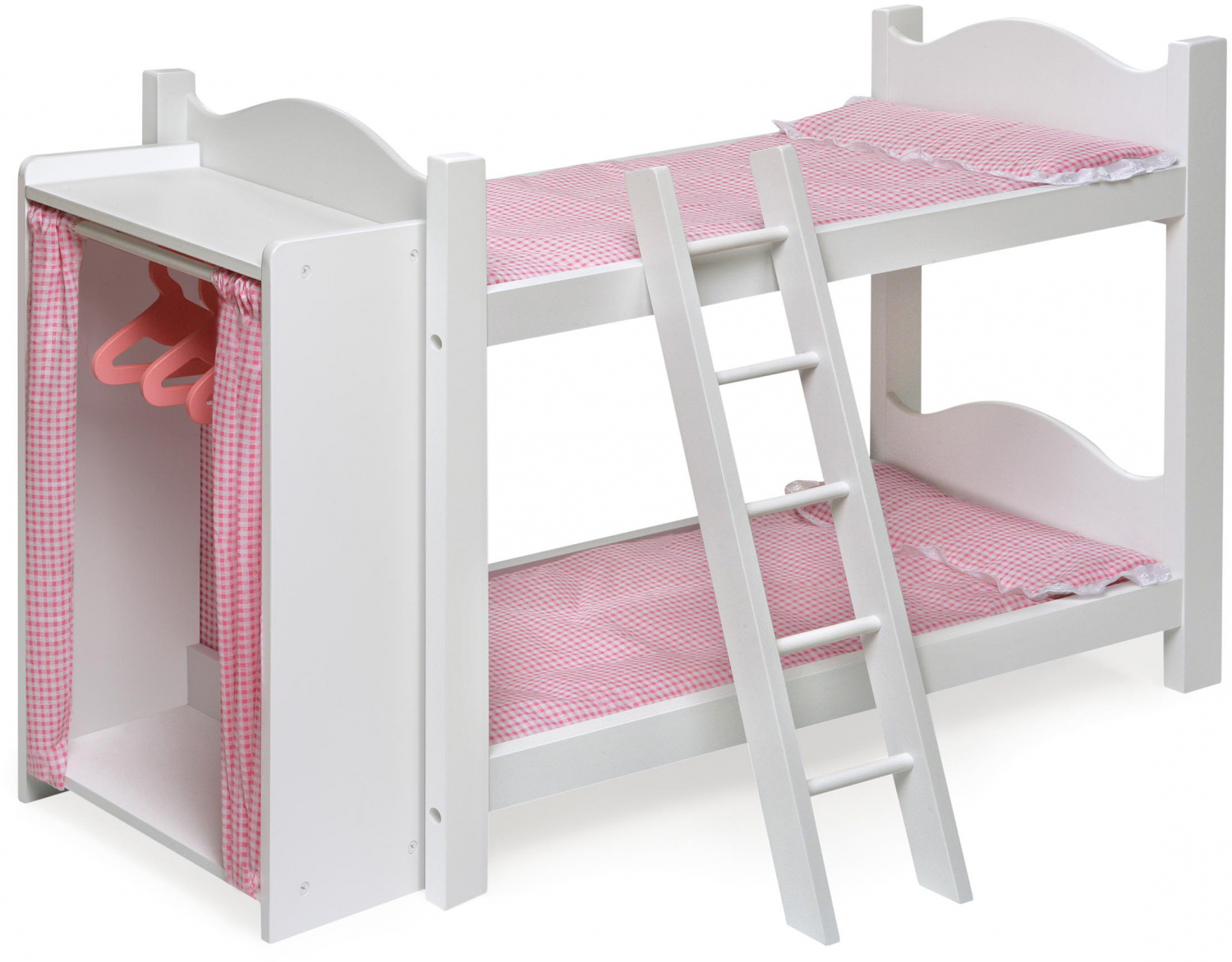 Doll Armoire Bunk Bed W Ladder Fits American Girl My Life Most 18