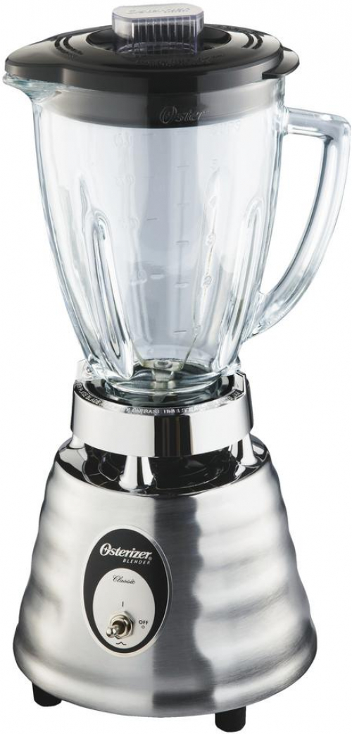 Stainless OSTER 2-Speed Blender with 6-Cup Dishwasher-Safe ...