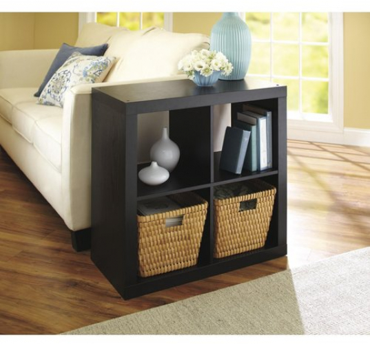 Better Homes and Gardens 4 Cube Storage Organizer Multiple Colors