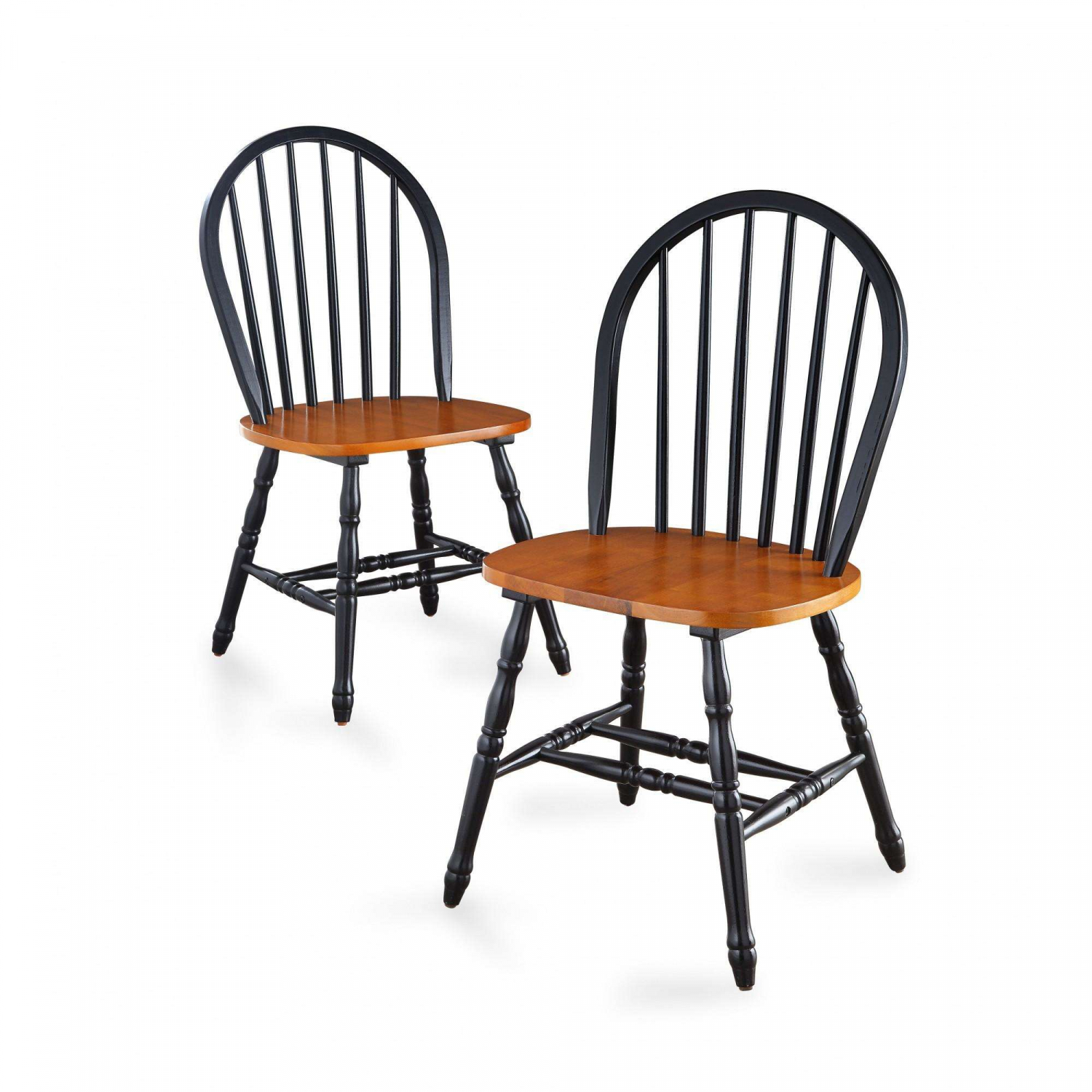 Wooden Dining Chairs Set Of 4 Table Seating Wood Kitchen Family Room Meals Black For Sale Online Ebay