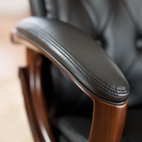 Heavy Duty Office Chair Leather Office Rolling Computer