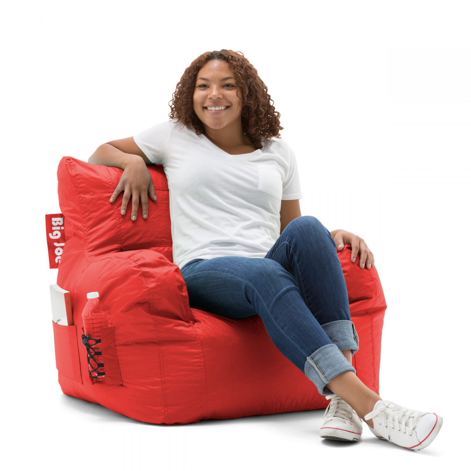 Incredible Details About Red Big Joe Dorm Bean Bag Chair Bedroom Game Sports Room Lounge Soft Cushion Sit Beatyapartments Chair Design Images Beatyapartmentscom