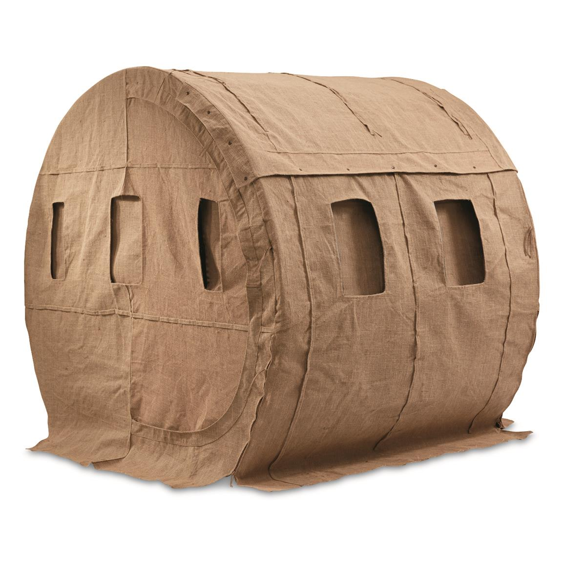 guide gear bale blind ground blind