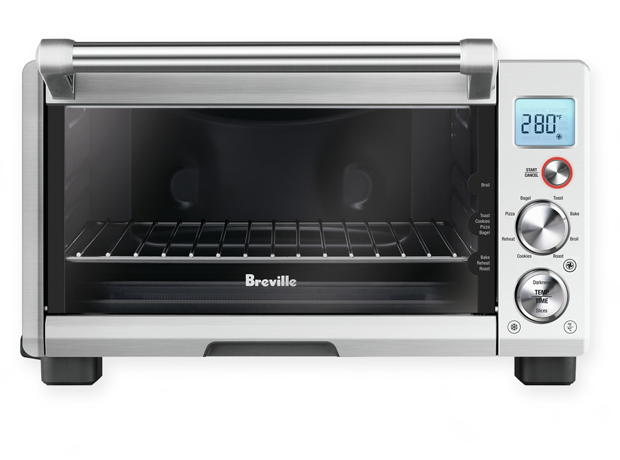 Breville Compact Convection Smart Toaster Oven 21614049391 ...
