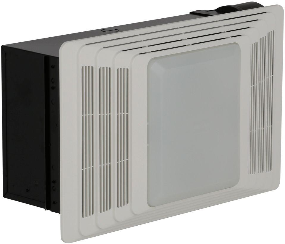 Bathroom Exhaust Fan With Light And Heater Broan 50 CFM Ceiling | eBay