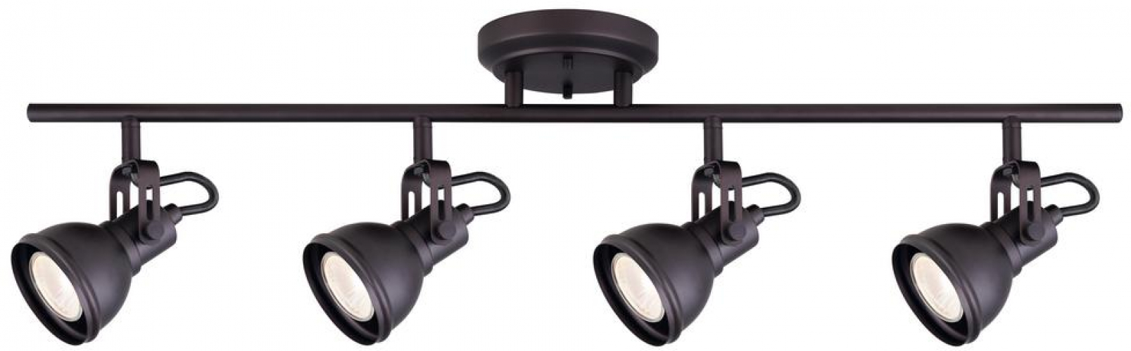 Details About Fixed Polo 4 Light Track Lighting Decorative Fixture 29 In Oil Rubbed Bronze