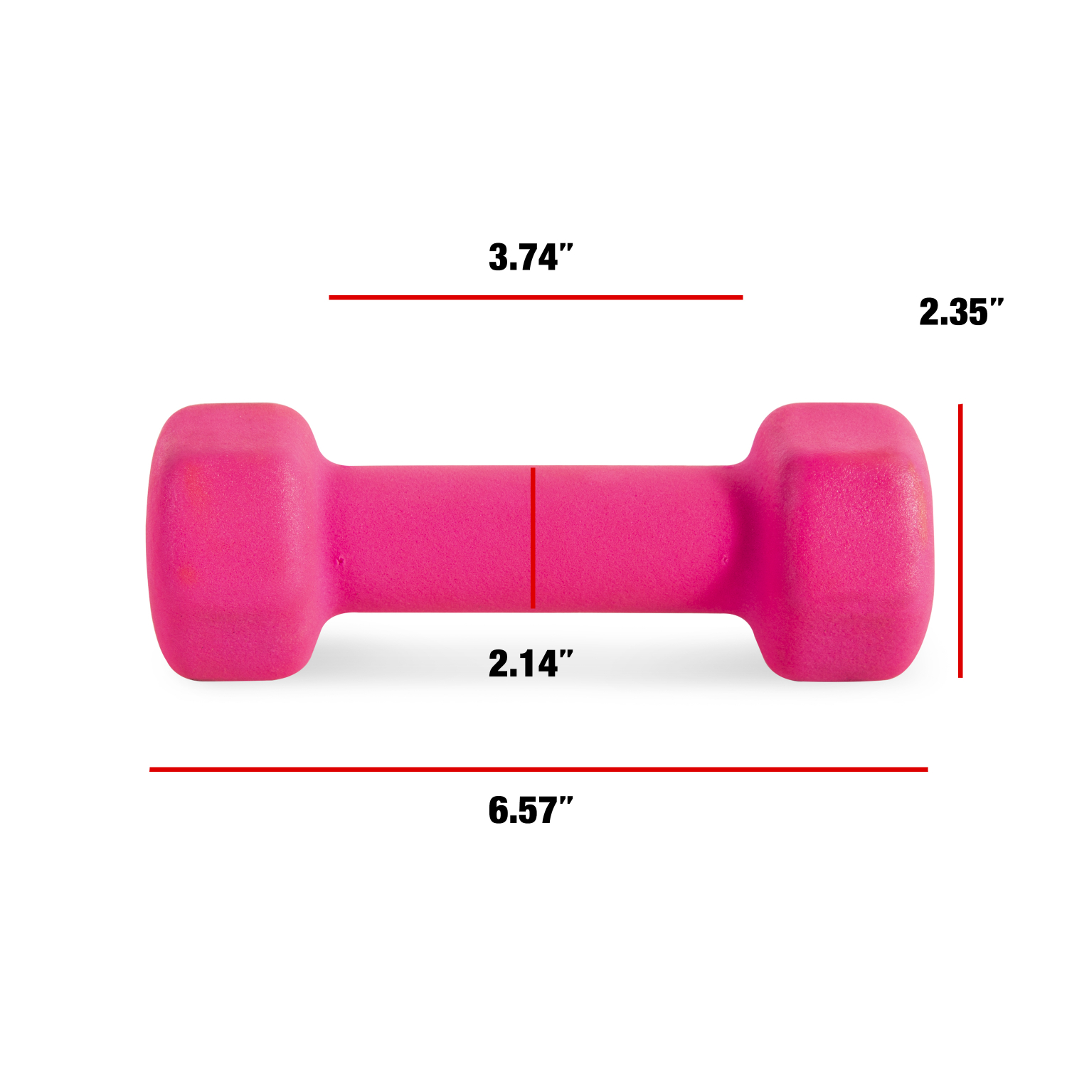 Neoprene Dumbbell Weights Strength Training Exercise Fitness Single 2 to 10 lbs.