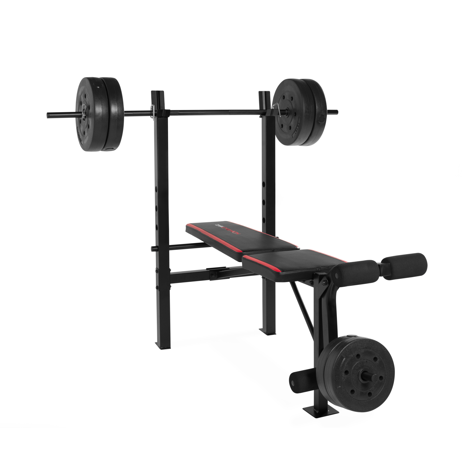 Weight Bench Bar Lift Set Weightlifting Exercise Workout Press Weights 100 lb eBay