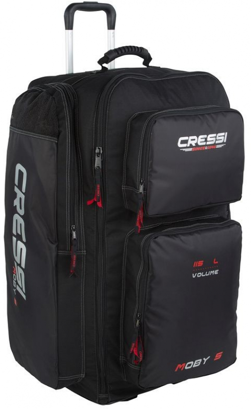97f13829e8f9e CRESSI MOBY 5 115L SCUBA diving bag black