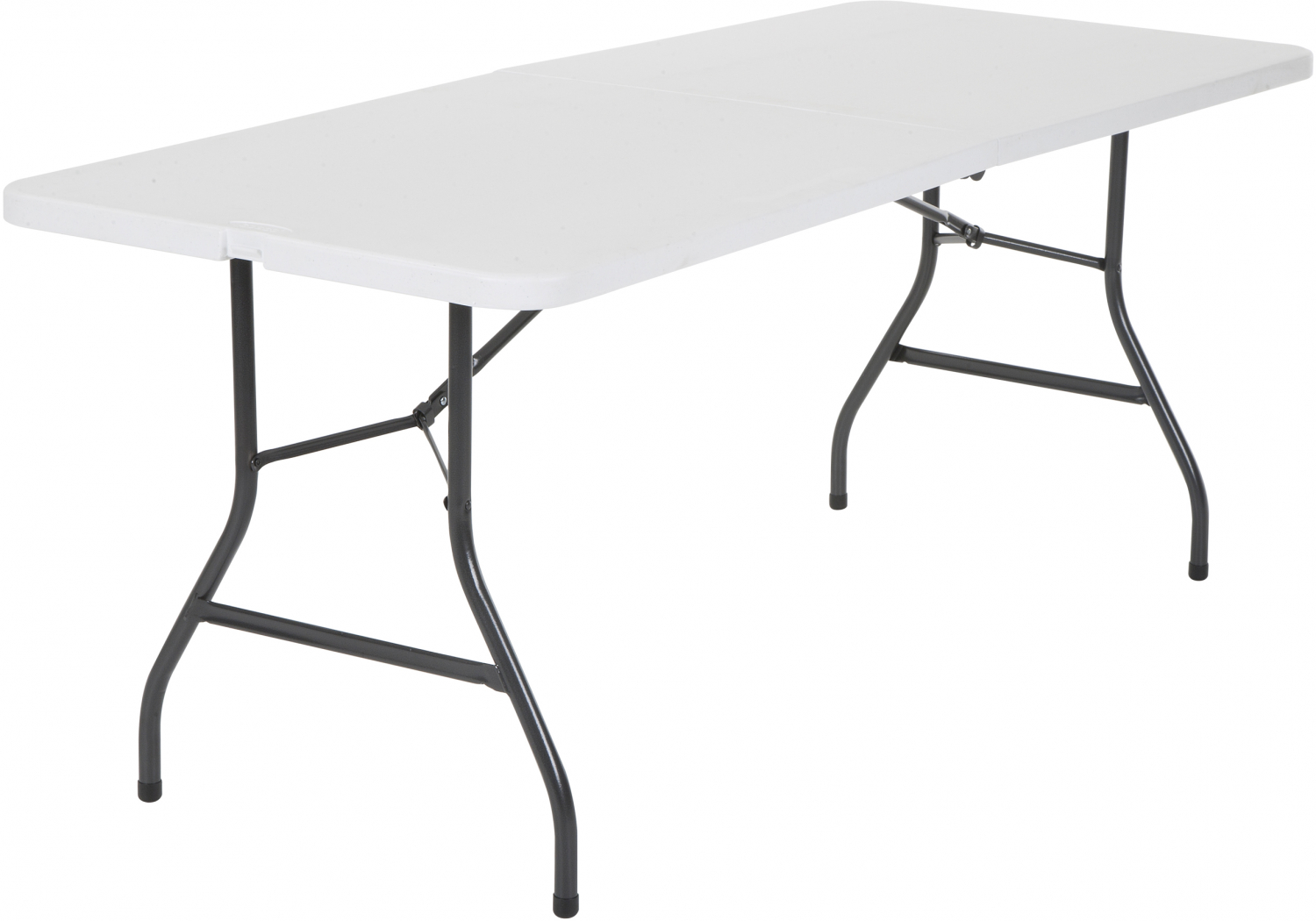 - Folding Table 6ft Centerfold Plastic Indoor Outdoor Party