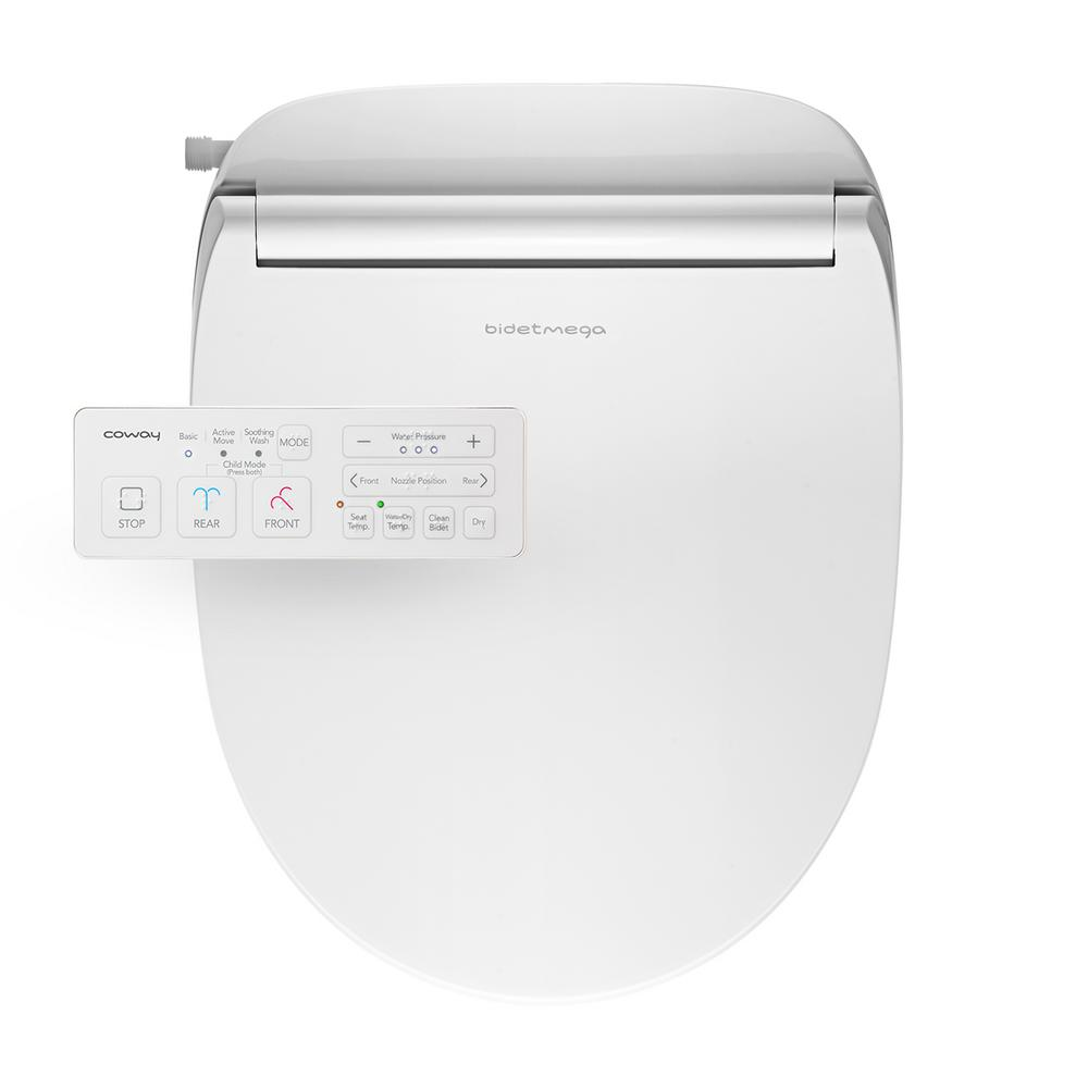 Bidet Bidet Parts Electronic Heated Toilet Seat Cleansing Warm Water And Heated Seat For Round Toilets With Warm Air Dryer And Temperature Controlled Wash Functions Ayx 05 Electronic Smart Bidet Toilet Seat