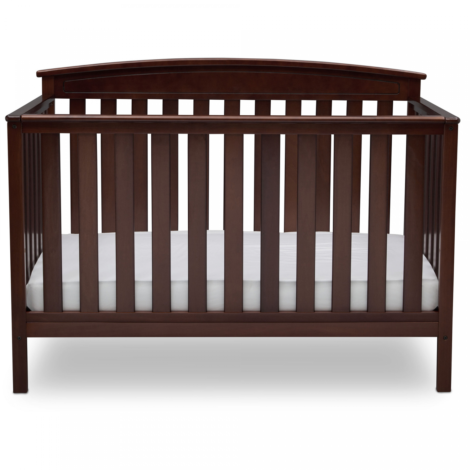 Convertible Baby Crib 4 in 1 Convert to Toddler Bed Solid ...