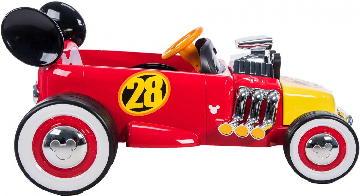 Mickey Roadster Racer Disney 6 Volt Battery Powered Ride On By Huffy Red New 28914176079 Ebay