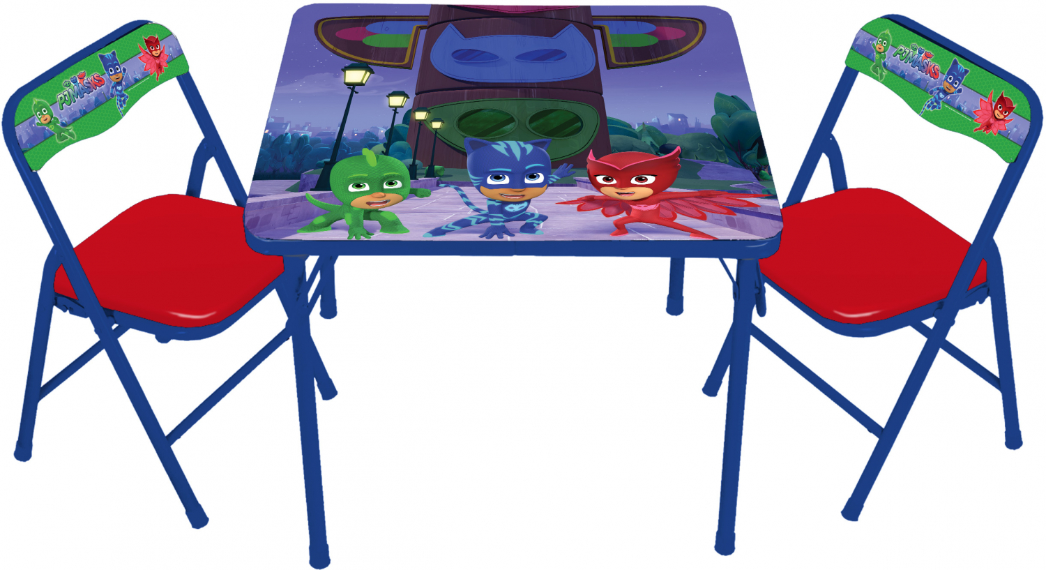 Phenomenal Details About Kids Activity Table Chair Set Disney Pj Masks Erasable Folding Desk Padded Chair Caraccident5 Cool Chair Designs And Ideas Caraccident5Info