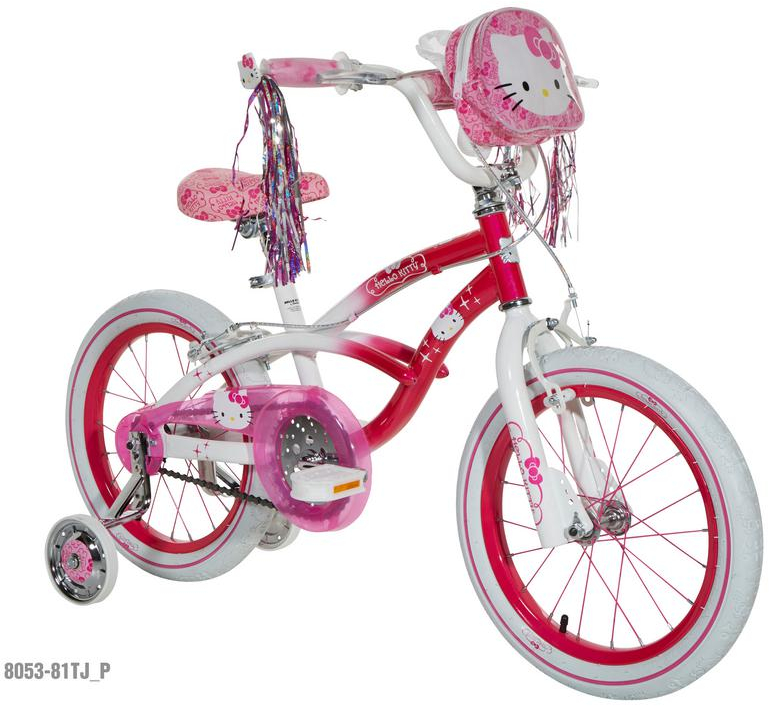 Hello Kitty Kids Bike Little Girls Bicycle 4 Yrs 8 Years Age Old