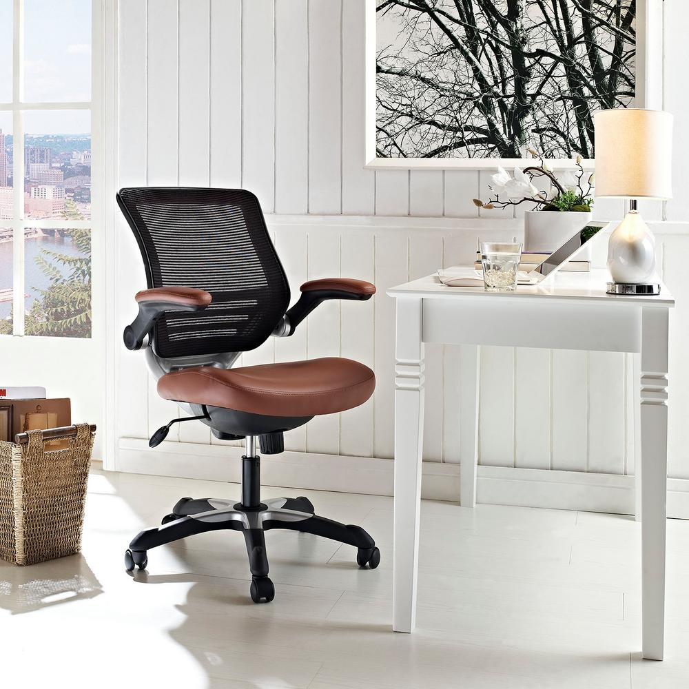 Enjoyable Details About Modway Office Chair Leather Modern Seat Adjustable Height Desk Furniture Vinyl Ocoug Best Dining Table And Chair Ideas Images Ocougorg