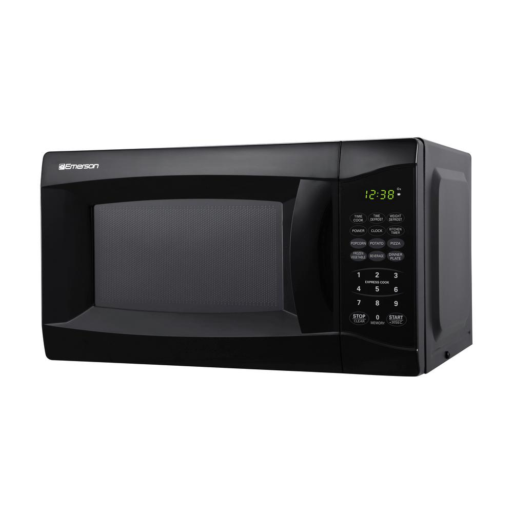 Emerson Countertop Microwave Oven Kitchen 0 7 Cu Ft 700w