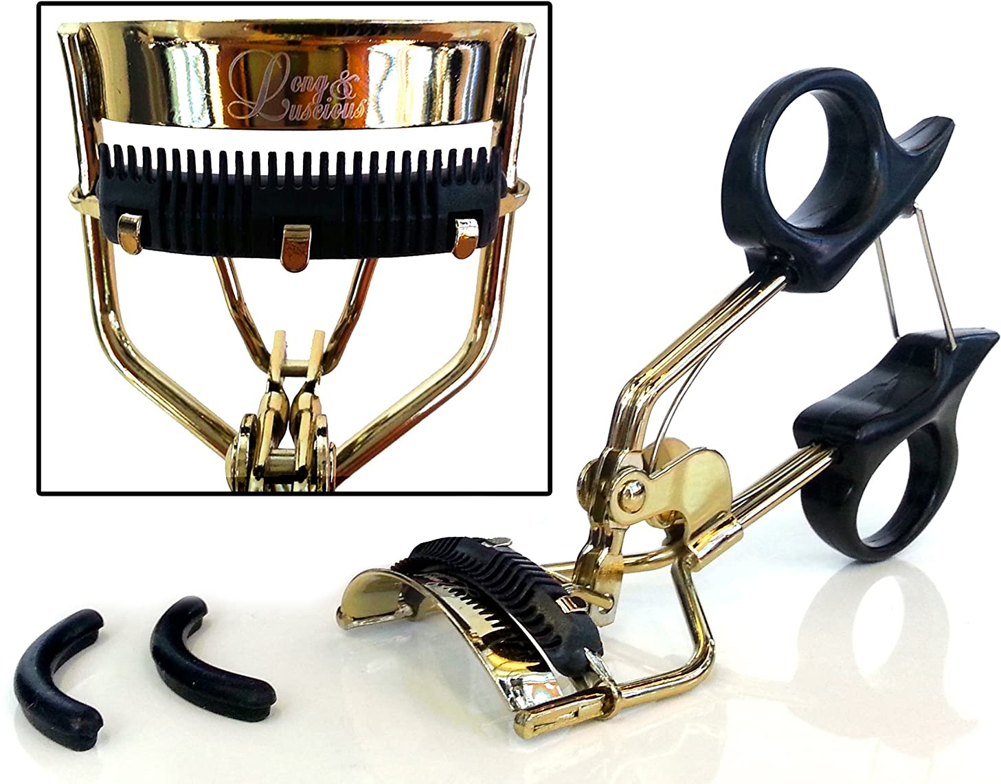 Eyelash Curler with BuiltIn Comb Attachment. Best New ...