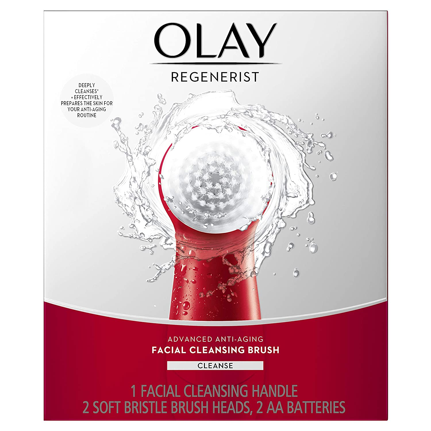 Facial Cleansing Brush By Olay Regenerist Face Exfoliator With 2