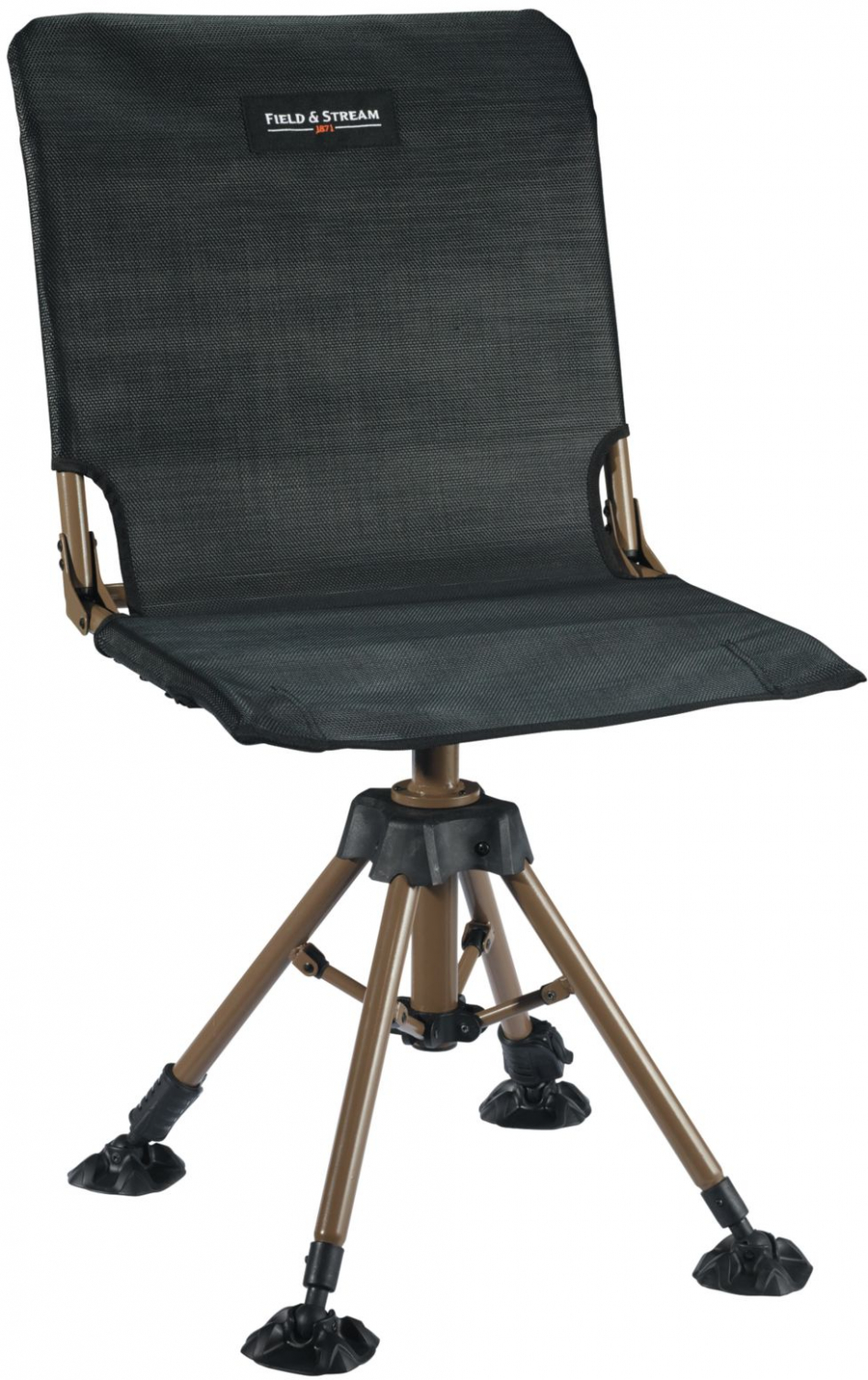 Rotating Blind Chair Folding Pop Out Portable Seat Camp