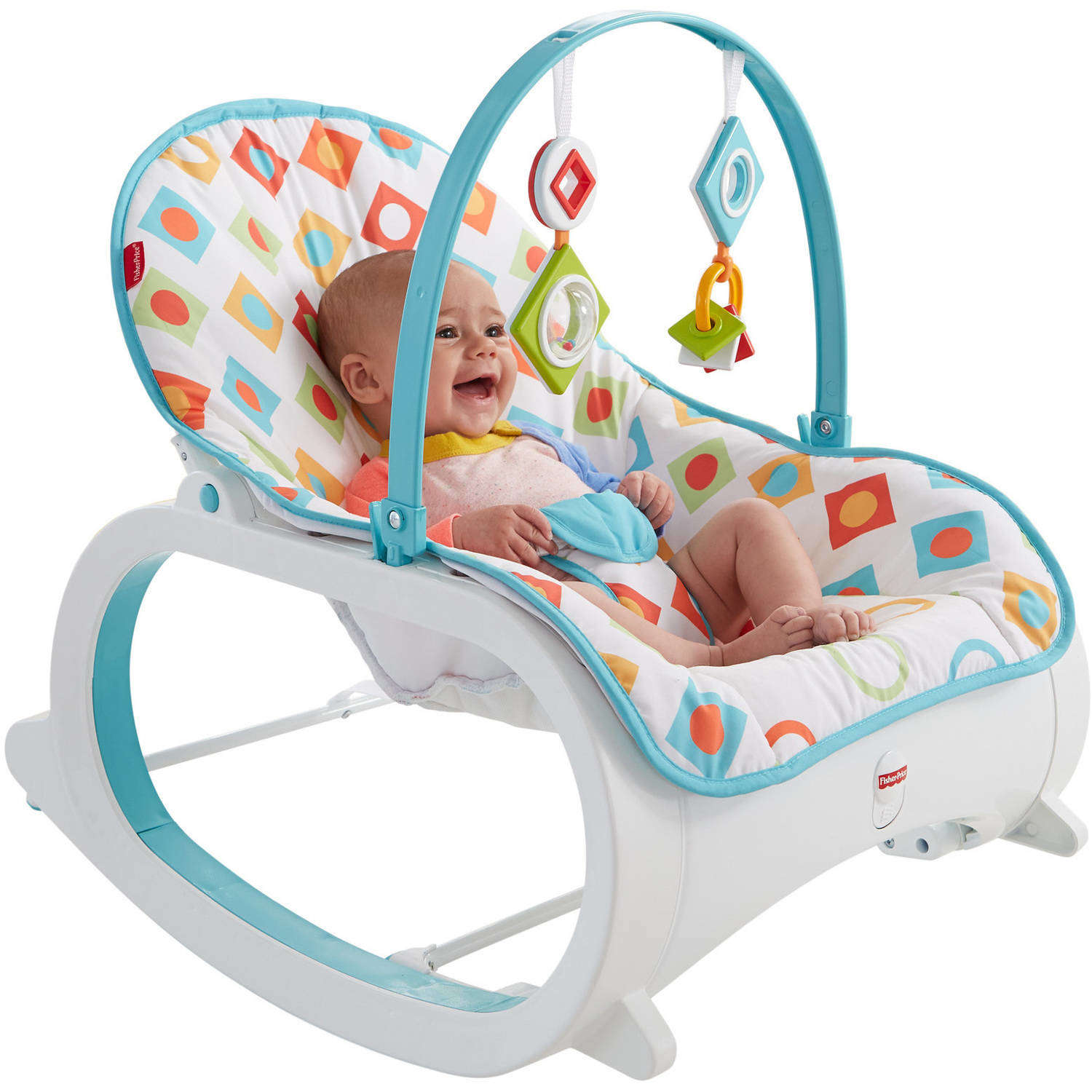 Details About Infant To Toddler Rocker Bouncer Seat Baby Chair Sleeper Swing Toy Portable