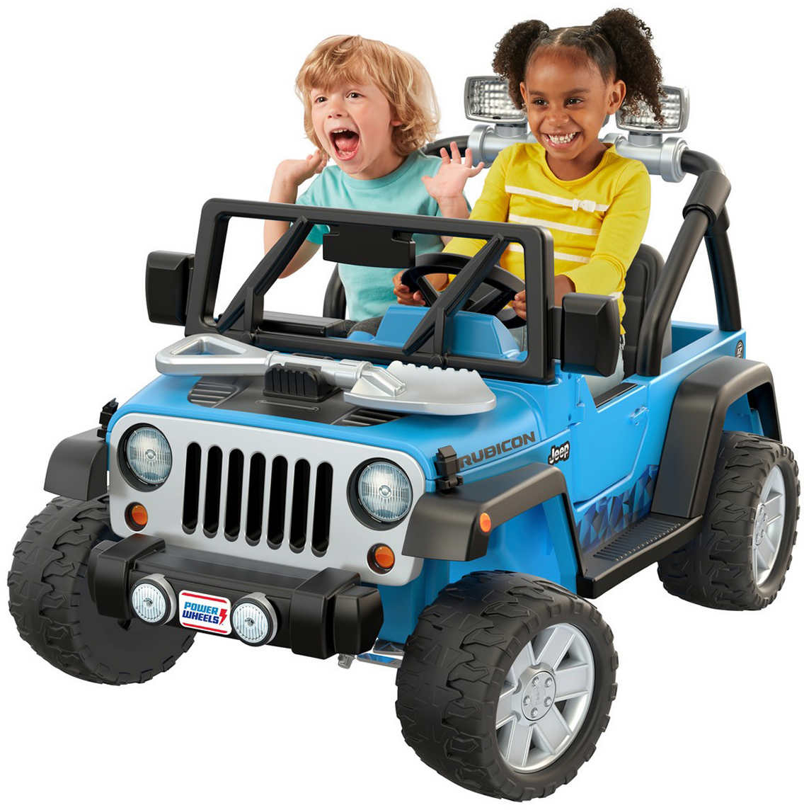 12v 2 Sd Ride On Ages 3 7 Years Wheels Deluxe Jeep Rubicon