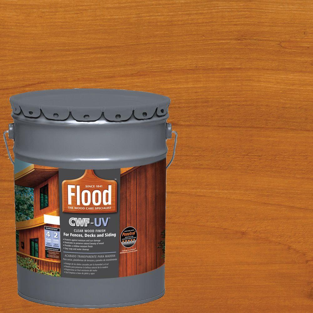 Details About Flood Oil Based Exterior Wood Finish Cedar Tone 5 Gal Cwf Uv Paint Dry Fast