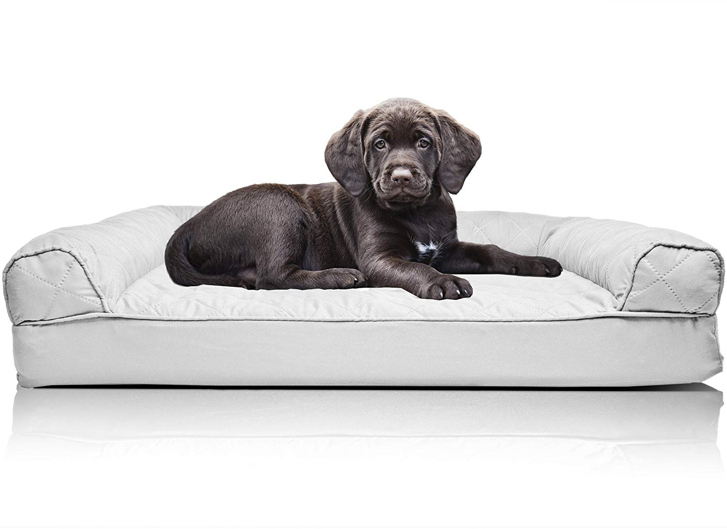 Sensational Details About Furhaven Pet Dog Bed Orthopedic Quilted Sofa Style Couch Pet Bed For Dogs And Gmtry Best Dining Table And Chair Ideas Images Gmtryco