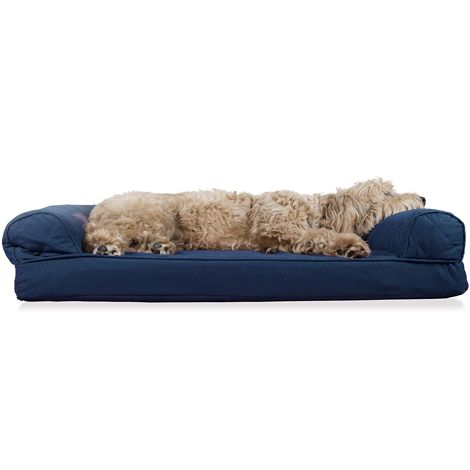 Wondrous Details About Furhaven Pet Dog Bed Orthopedic Quilted Sofa Style Living Room Couch Pet Bed Gmtry Best Dining Table And Chair Ideas Images Gmtryco