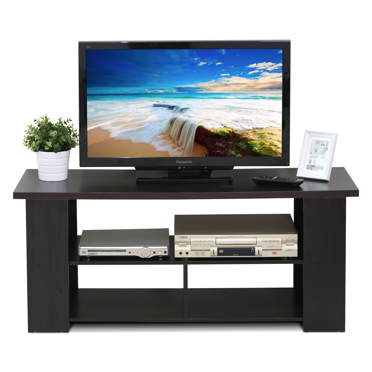 TV Stand Unit Cabinet, Fits Up To 50 In. Television with Mou