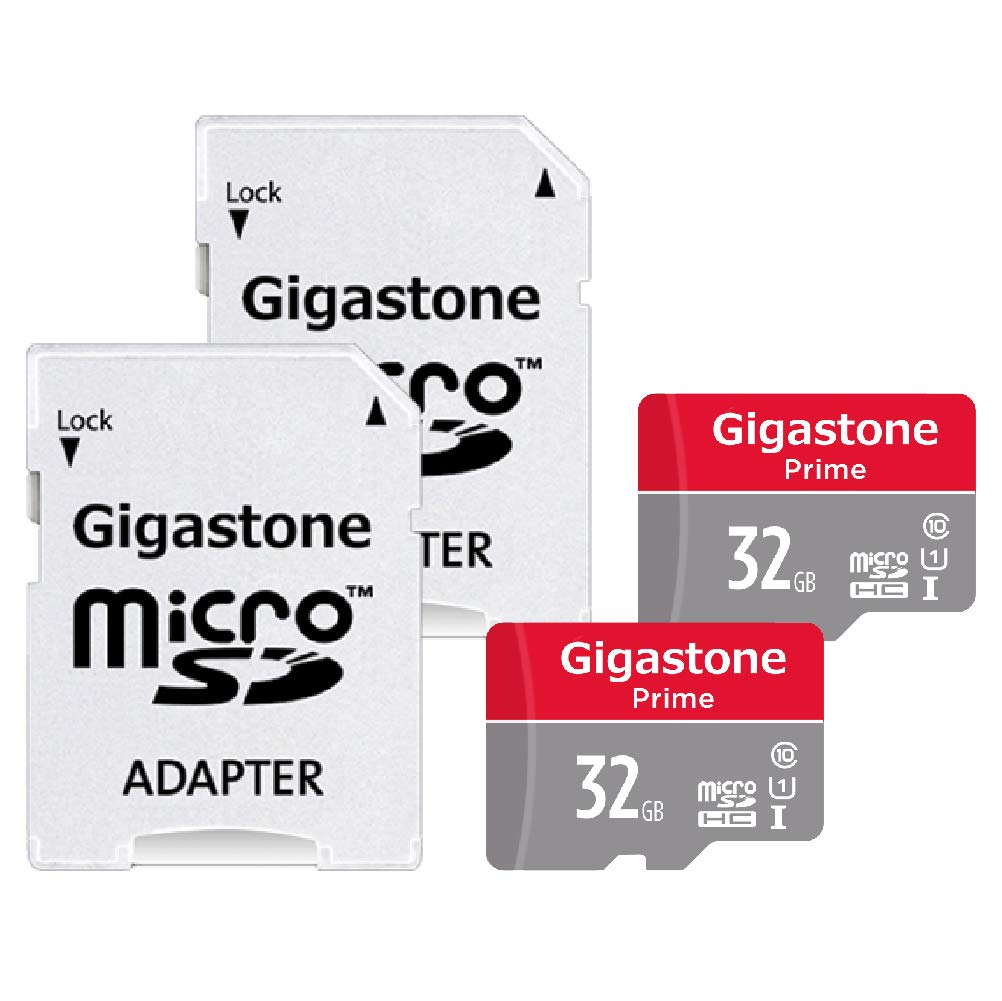 Gigastone 128GB 90MB//s U1 MicroSD for Samsung Galaxy Android Phone, Tablet, DSLR, GoPro Camera, Drone, PC Micro SD Card with Adapter