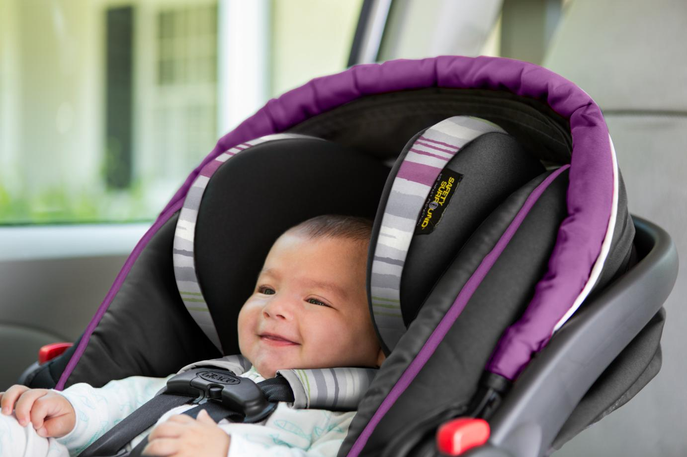 Graco SnugRide SnugLock 35 XT Infant Baby Car Seat Safety Tested NEW