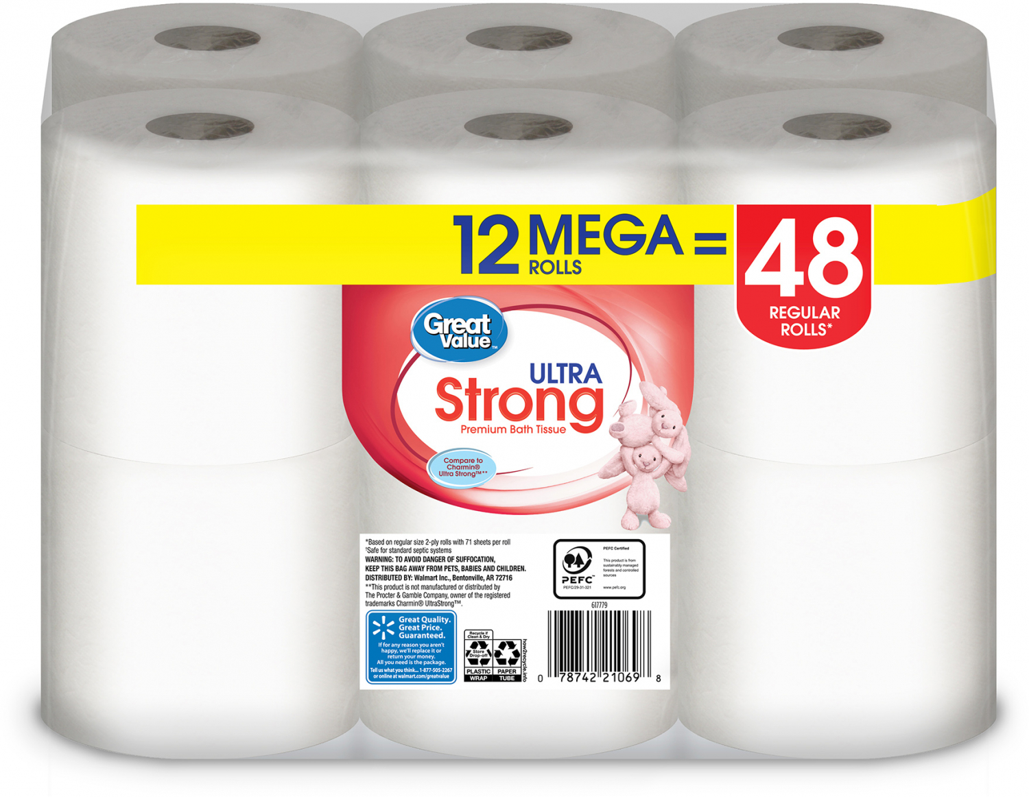 24-Mega-Rolls-Toilet-Paper-Ultra-Strong-2-Ply-Soft-Bath-Tissue-Save-Great-Value thumbnail 14