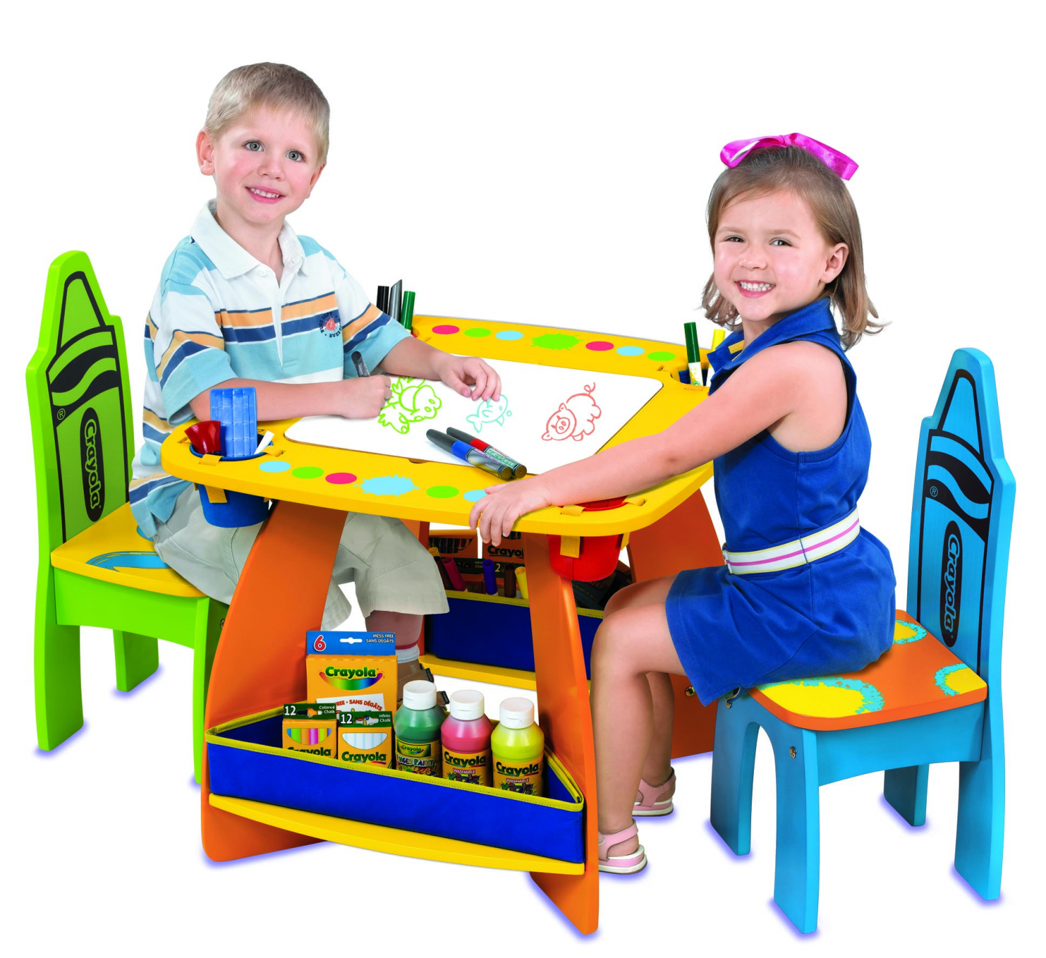 Details About Kids Table Chair Wooden Children Play Art Toddler Wood Playhouse Furniture Set