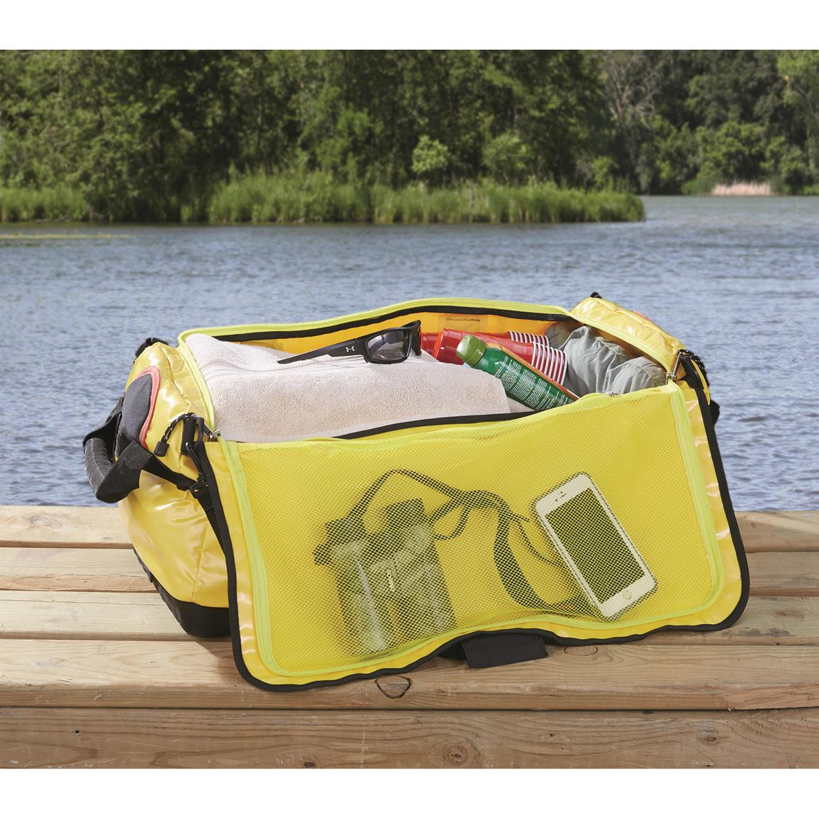 Waterproof-Floating-Duffel-Bag-Boat-Canoe-Kayak-Jet-Ski-Large-Dry-Pack-Sports thumbnail 2
